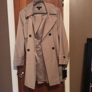 Brand new trench coat.